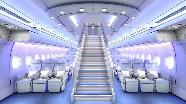 داخل ایرباس A380