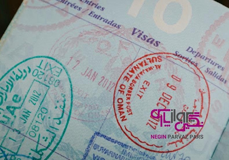 مهر خروج ویزای عمان