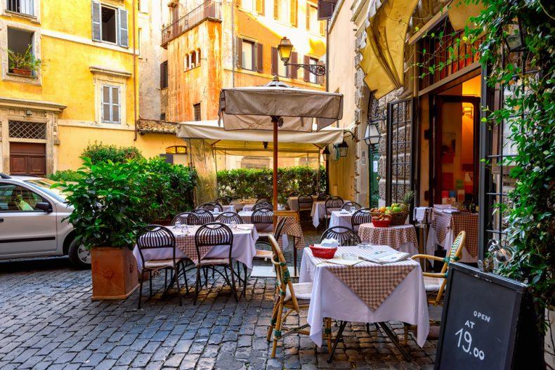 رستوران در رم