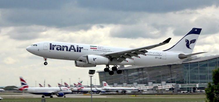 پرواز تهران لندن ایران ایر