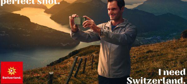 راجر فدرر سفیر گردشگری سوئیس
