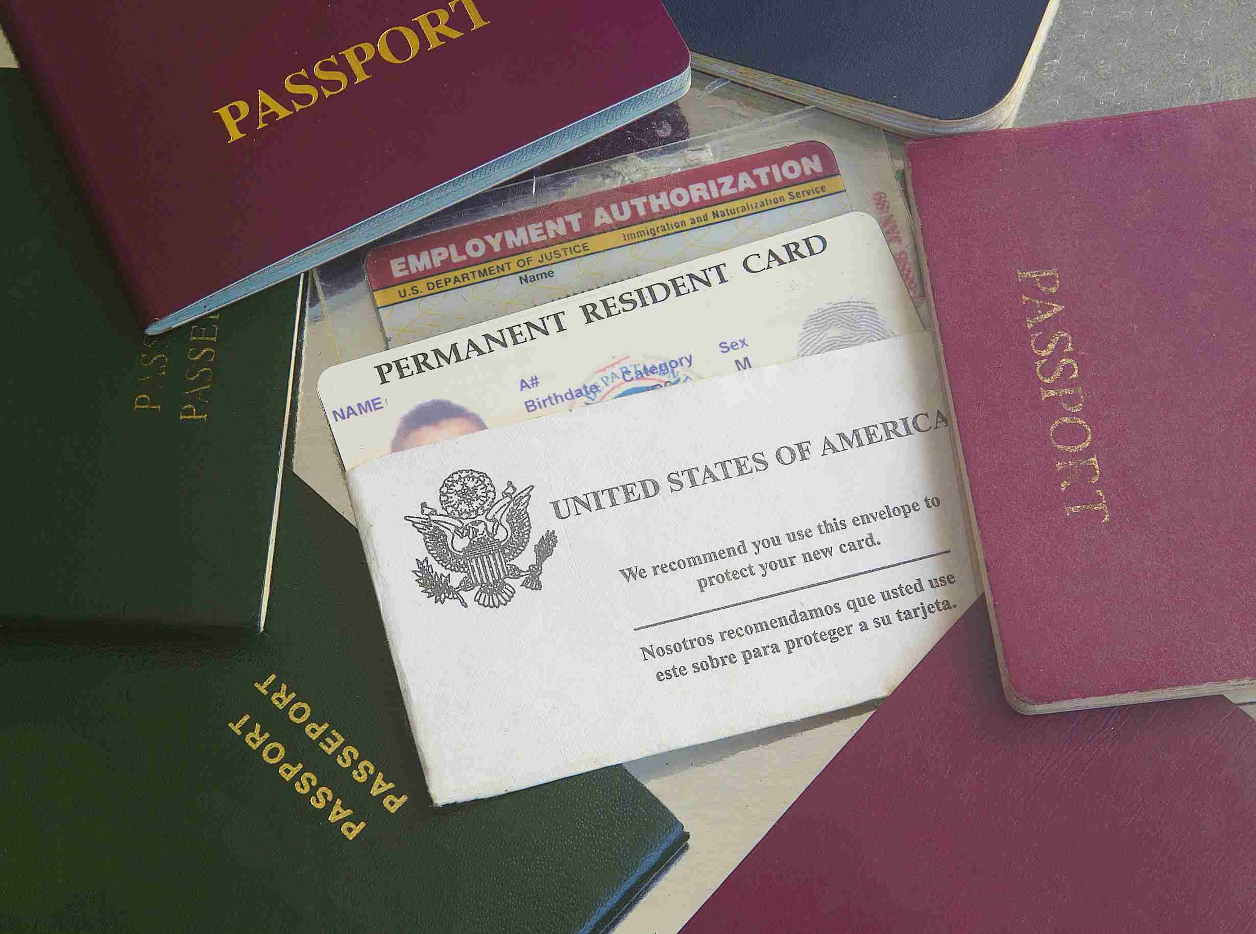 مدارک ویزای آمریکا