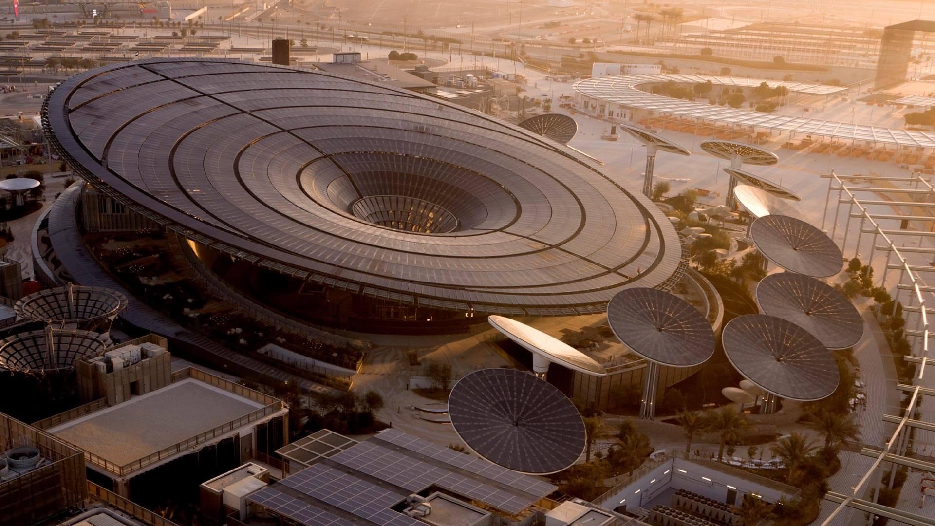 منطقه پایداری دبی اکسپو 2020