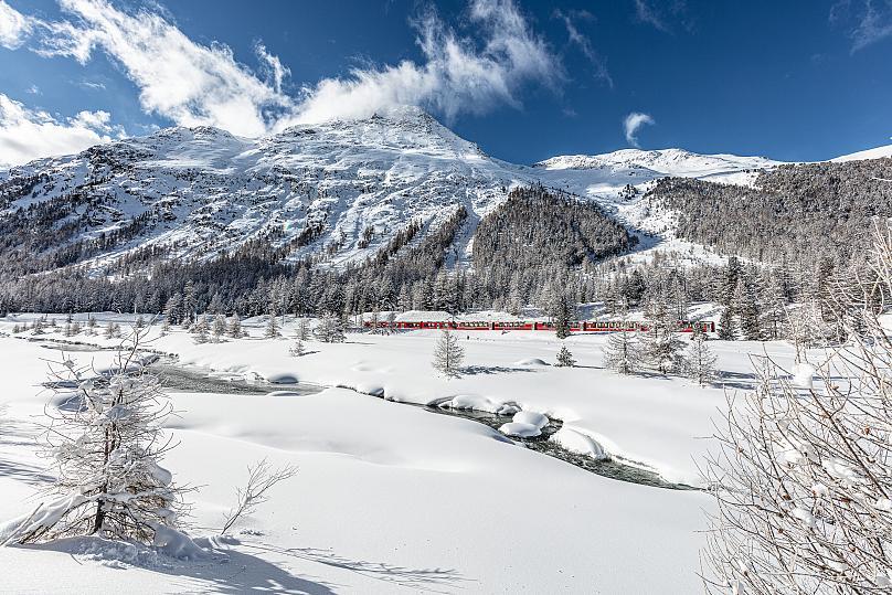 Bernina Express اروپا