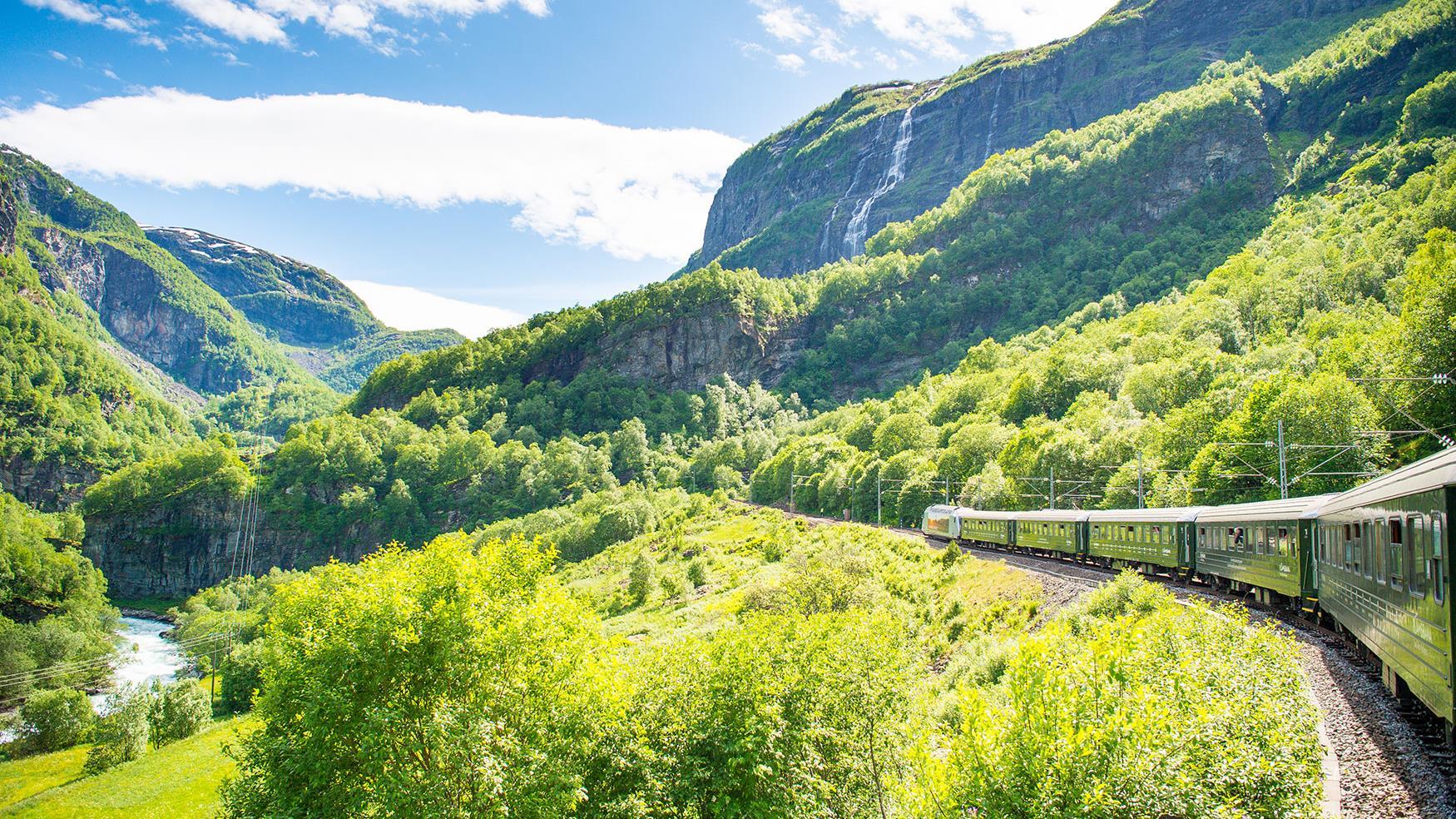 Flåm Railway نروژ